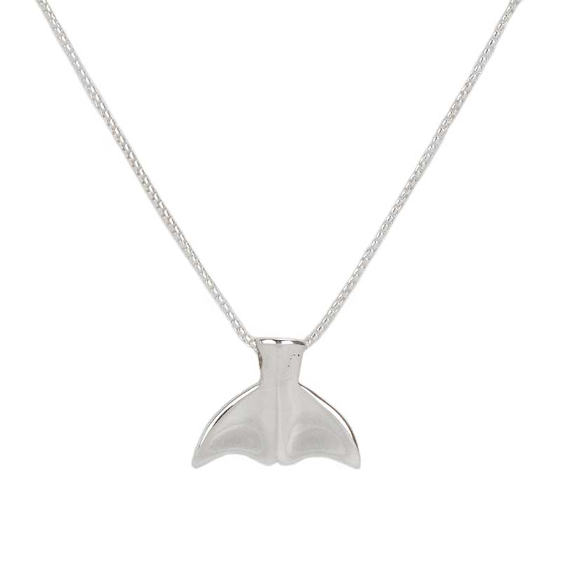 Whale Tail Pendant, Small