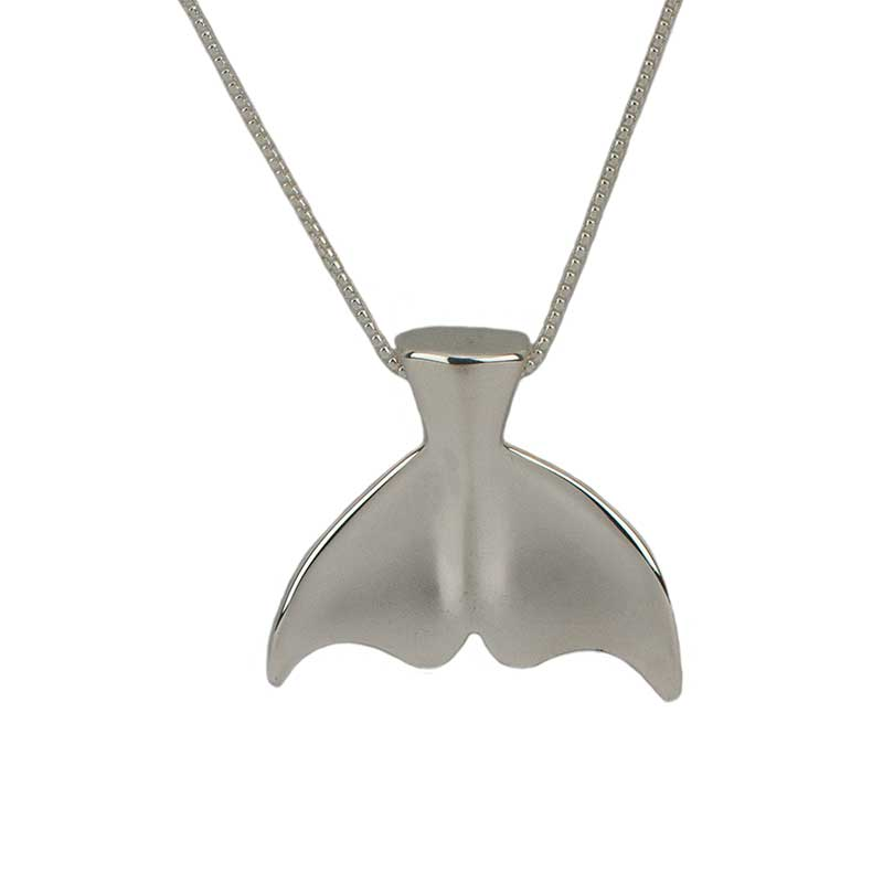 Whale Tail Pendant, Large