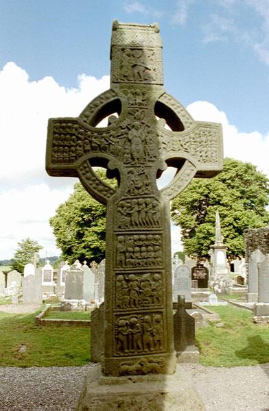 Muiredach's Cross, Monasterboice Ireland.  Photo courtesy Matteo Corti via WikiMedia Commons
