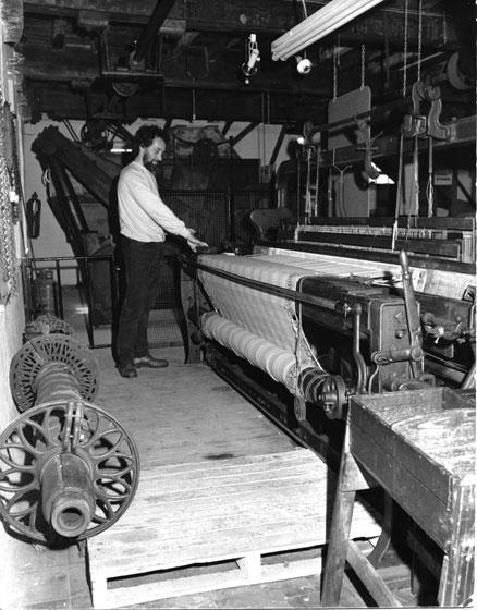 Weaving Shawls at Melin Teifi, Wales
