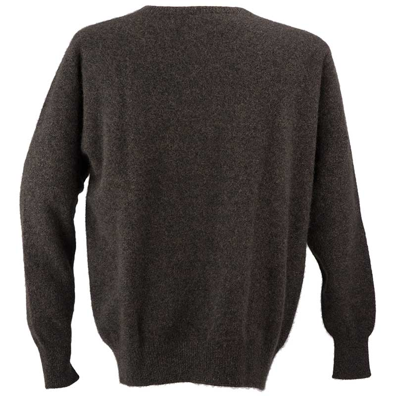 Possum Crew Neck Sweater, Back View