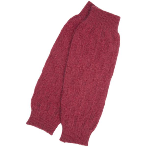 Possum Leg Warmers, Red