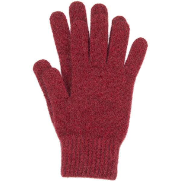 Possum Gloves, Red
