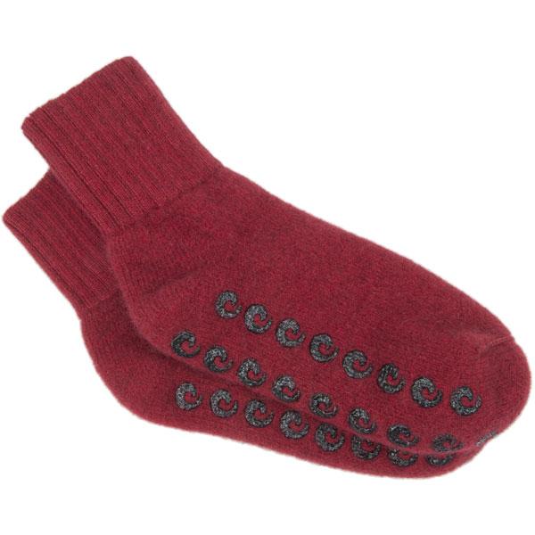 Possum House Socks by Lothlorian, Red