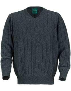 Possum V-Neck Sweater