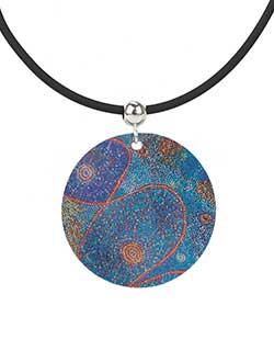 Star Dreaming Circle Pendant