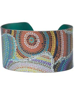 Water Dreaming Chic Cuff Bracelet