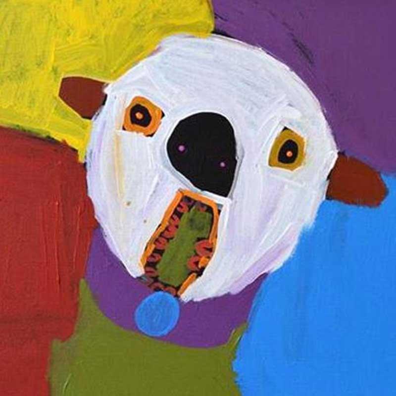 Dog of Yuendumu Earrings