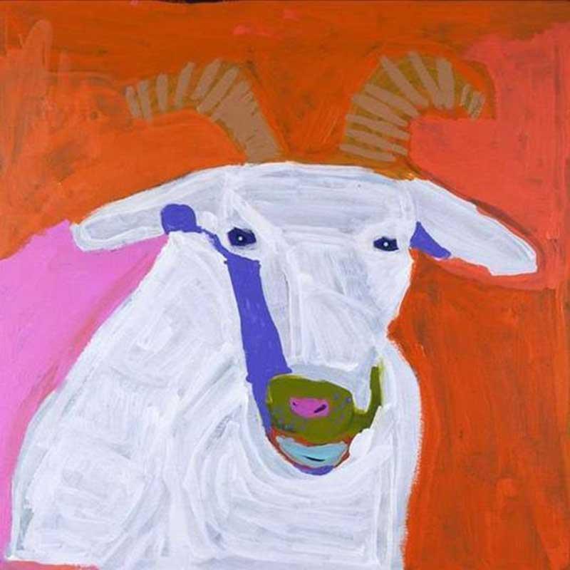 Goat of Yuendumu Artwork