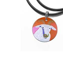 Goat of Yuendumu Pendant (DD07)