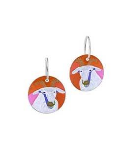 Goat of Yuendumu Earrings (DD07)