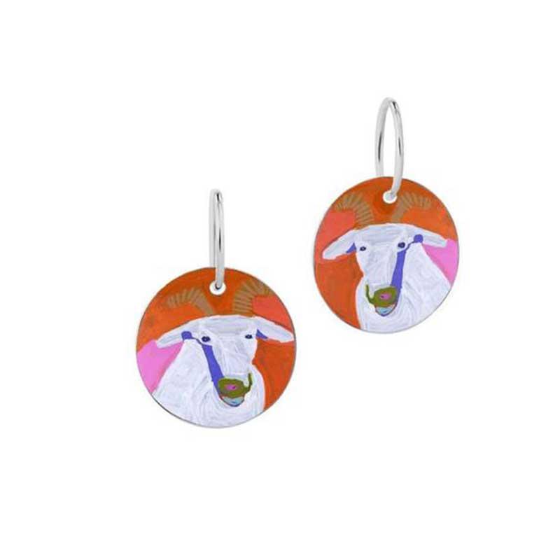 Goat of Yuendumu Earrings