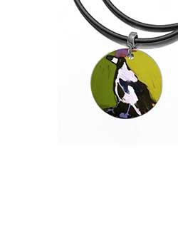 Magpie of Yuendumu Pendant (DD09)
