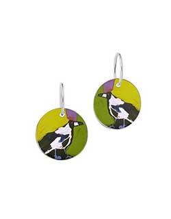 Magpie of Yuendumu Earrings (DD09)