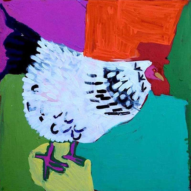 Rooster of Yuendumu Artwork