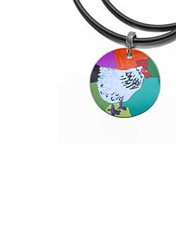 Rooster of Yuendumu Pendant (DD10)