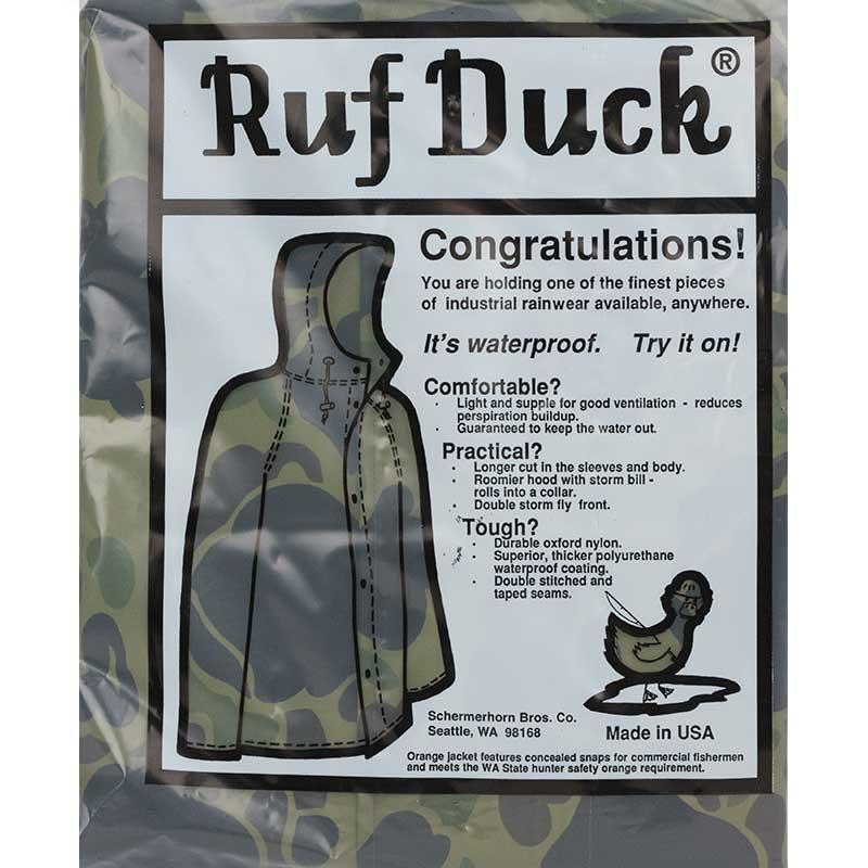 Ruf Duck Rain Jacket, Camouflage