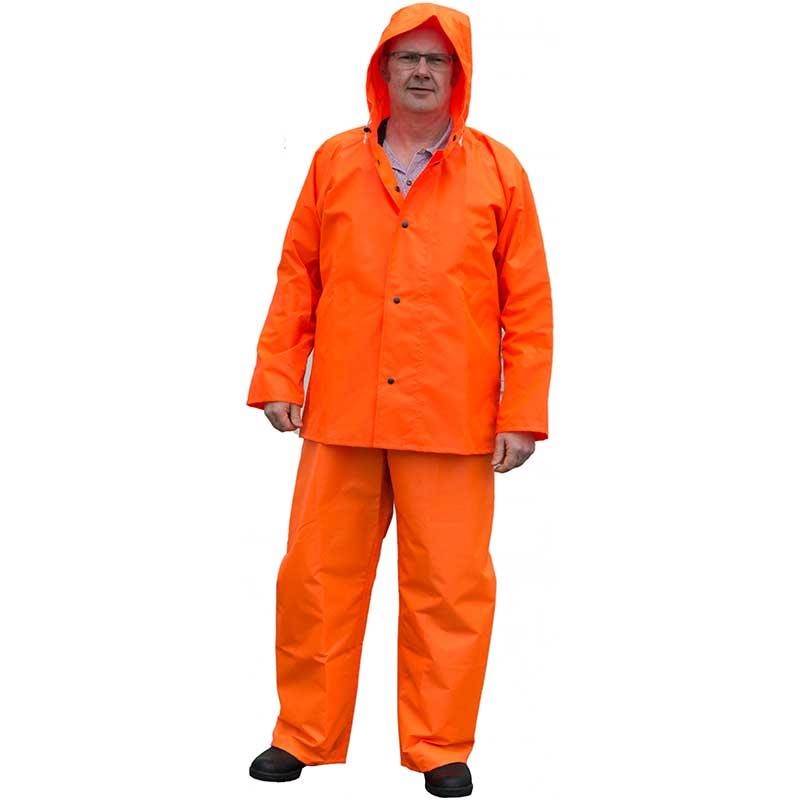 Ruf Duck Jacket, Orange