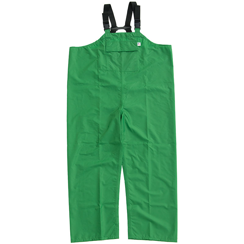 Ruf Duck Rain Overalls, Green