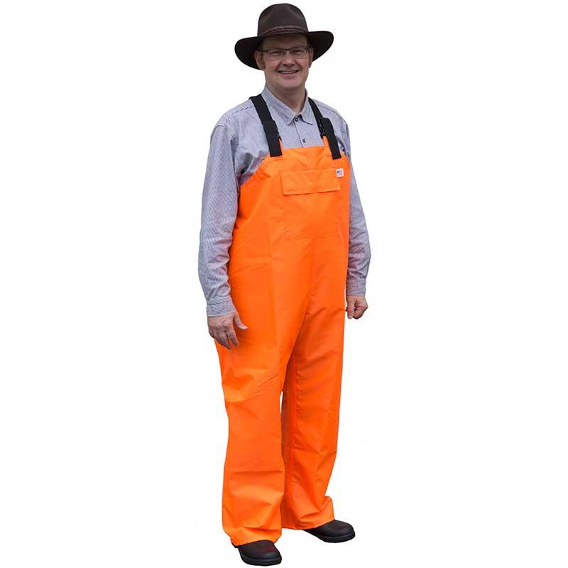 Ruf Duck Overalls, Orange