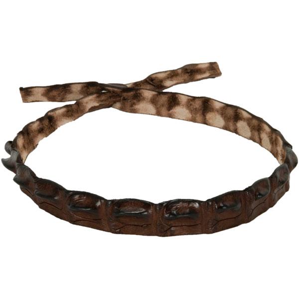 Crocodile Hat Band