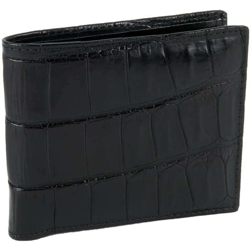 Crocodile ID Wallet, Black