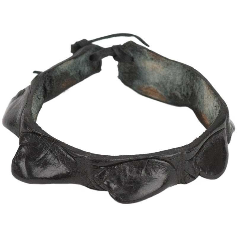 Crocodile Leather Wristband