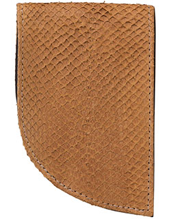 Salmon Wallet with RFID Protection