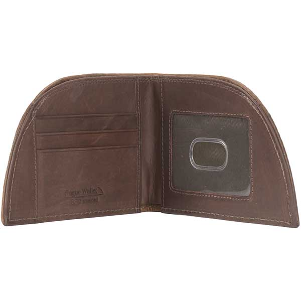 Bison Wallet with RFID Protection, Brown