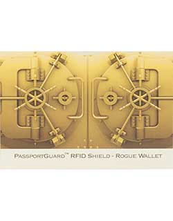 Passport Sleeve with RFID Protection