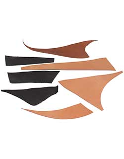 Kangaroo Leather Samples