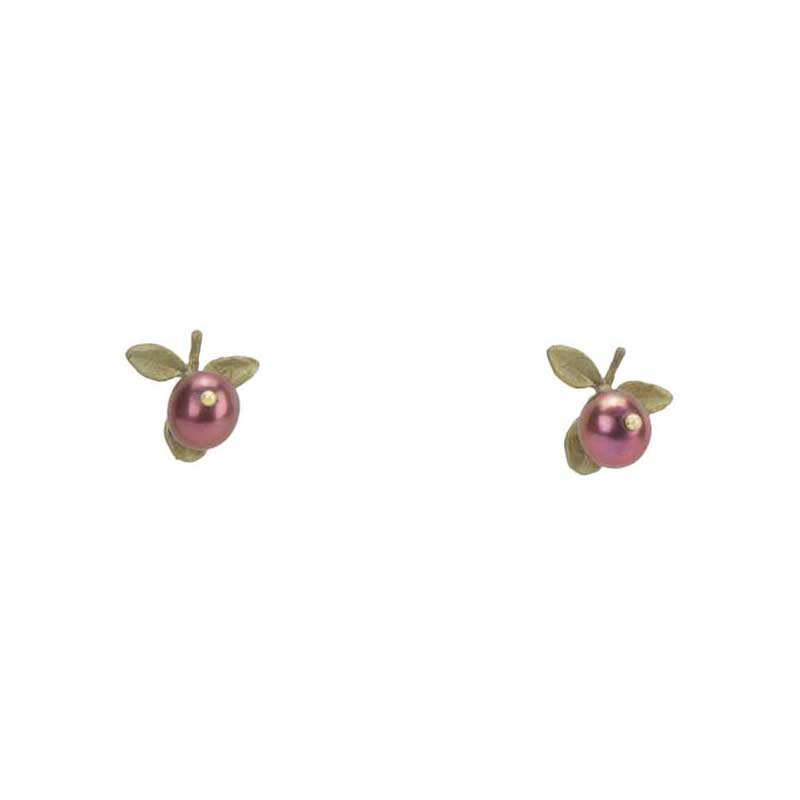 Cranberry Earrings, Post