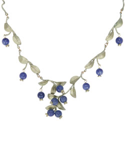 Blueberry Twigs Necklace