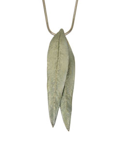 Eucalyptus Leaf Pendant