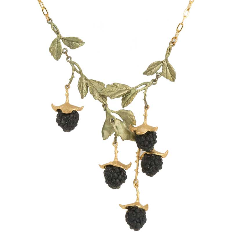 Blackberry Necklace