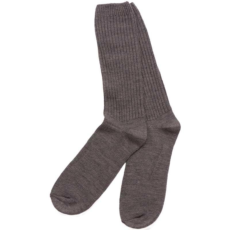 Light Brown Merino Casual Sock