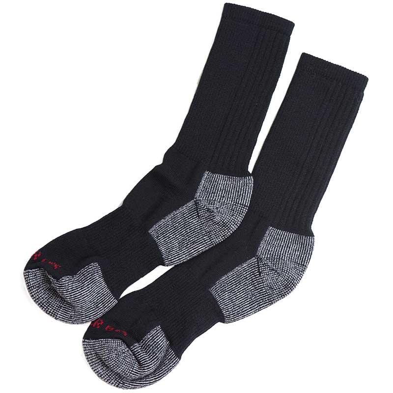 Super Wool Hiker GX Socks, Black