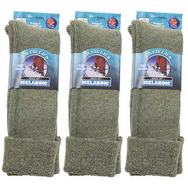 50 Below Socks, 3 pair