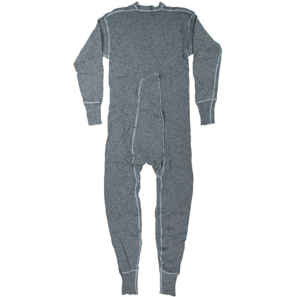 80/20 Underwear Union Suit : The union suit has an easy-to-use one-button flap seat.