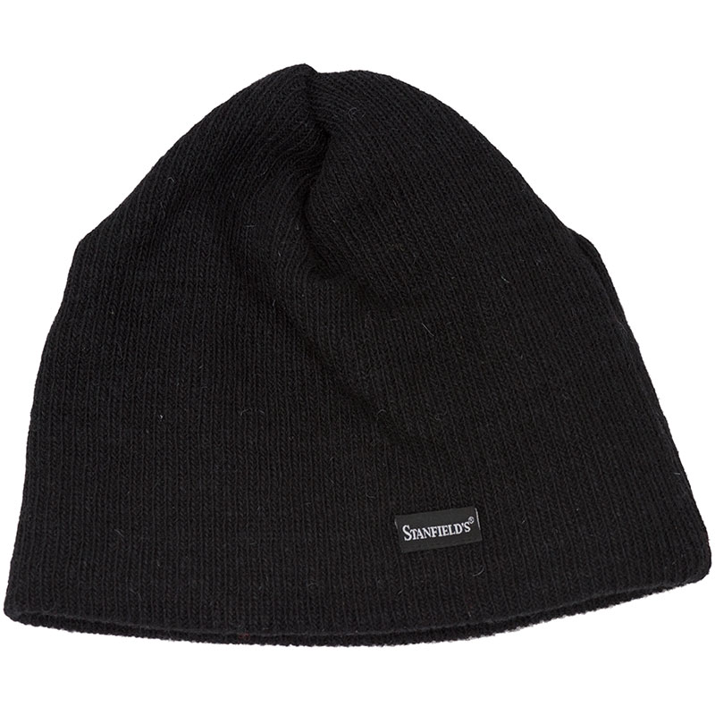 Wool Toque, Black