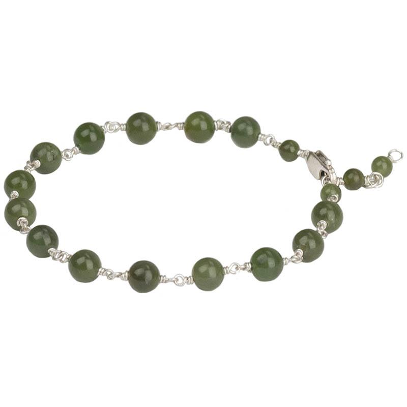 Jade Bracelet by Stathia Annis