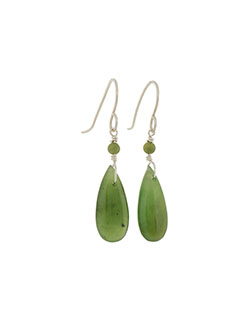 Jade Teardrop Earrings