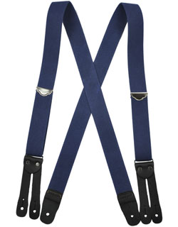 Welch Suspenders, Flat Leather Ends