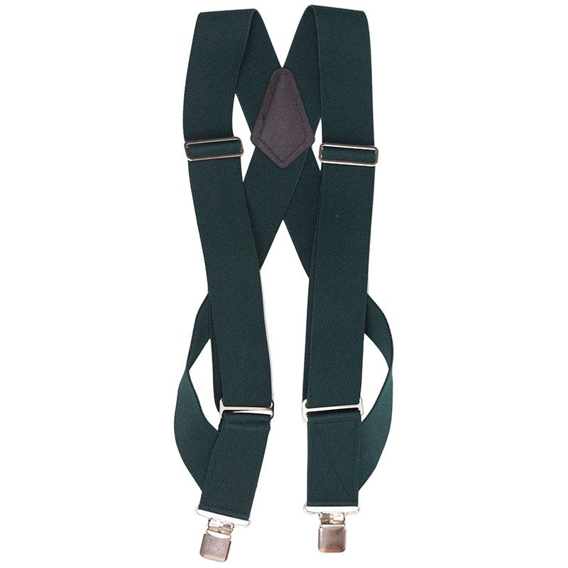 HopSack Trucker Suspenders, Green