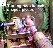Turning Rods to Make Shaped Pieces