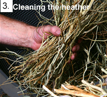 Cleaning the Heather