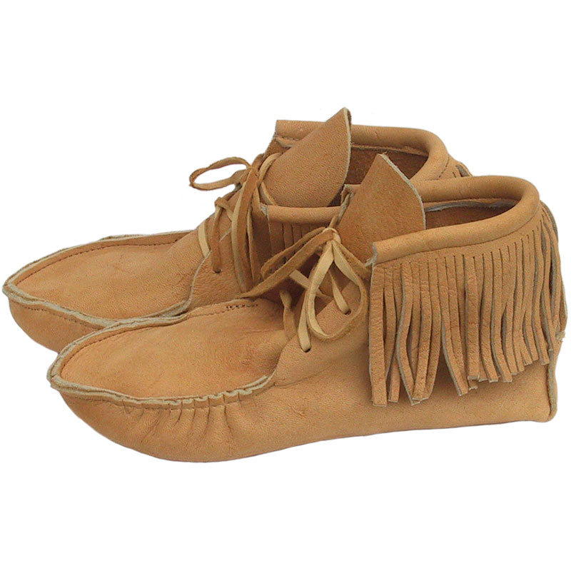 High Moose Leather Moccasins