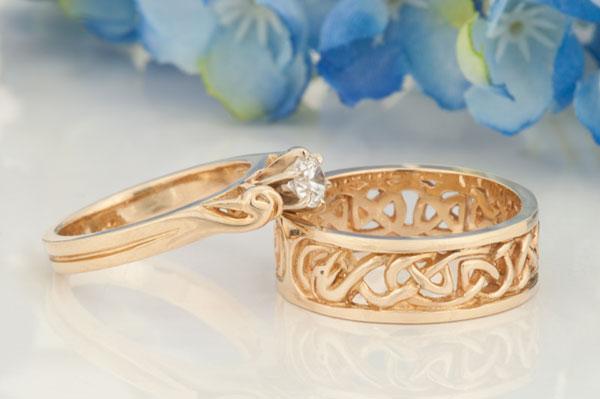 celtic wedding engagement anniversary rings david morgan - Wedding Anniversary Rings