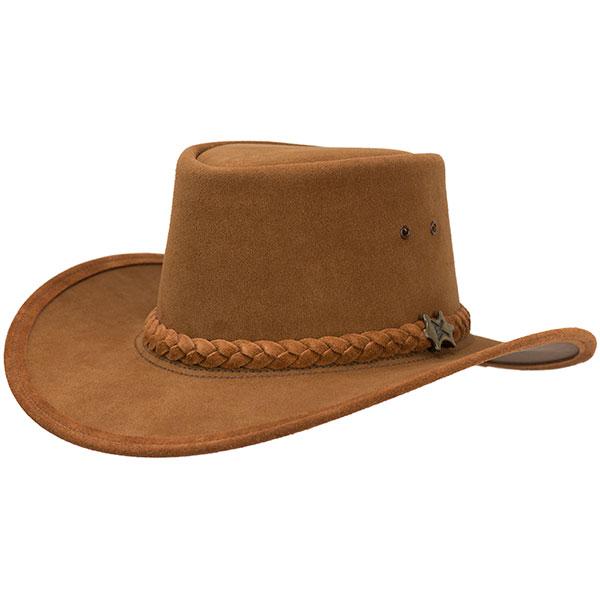 Suede Stockman hat