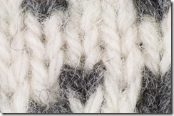 Closup of Devold's Islender Sweater